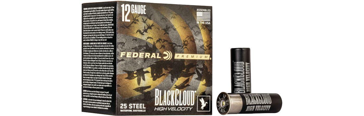 Federal Black Cloud FS Steel High Velocity Shotgun Ammo – 25 Shells