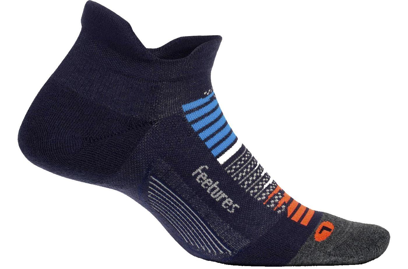 Feetures! Stardust Max Cushion No Show Tab Socks