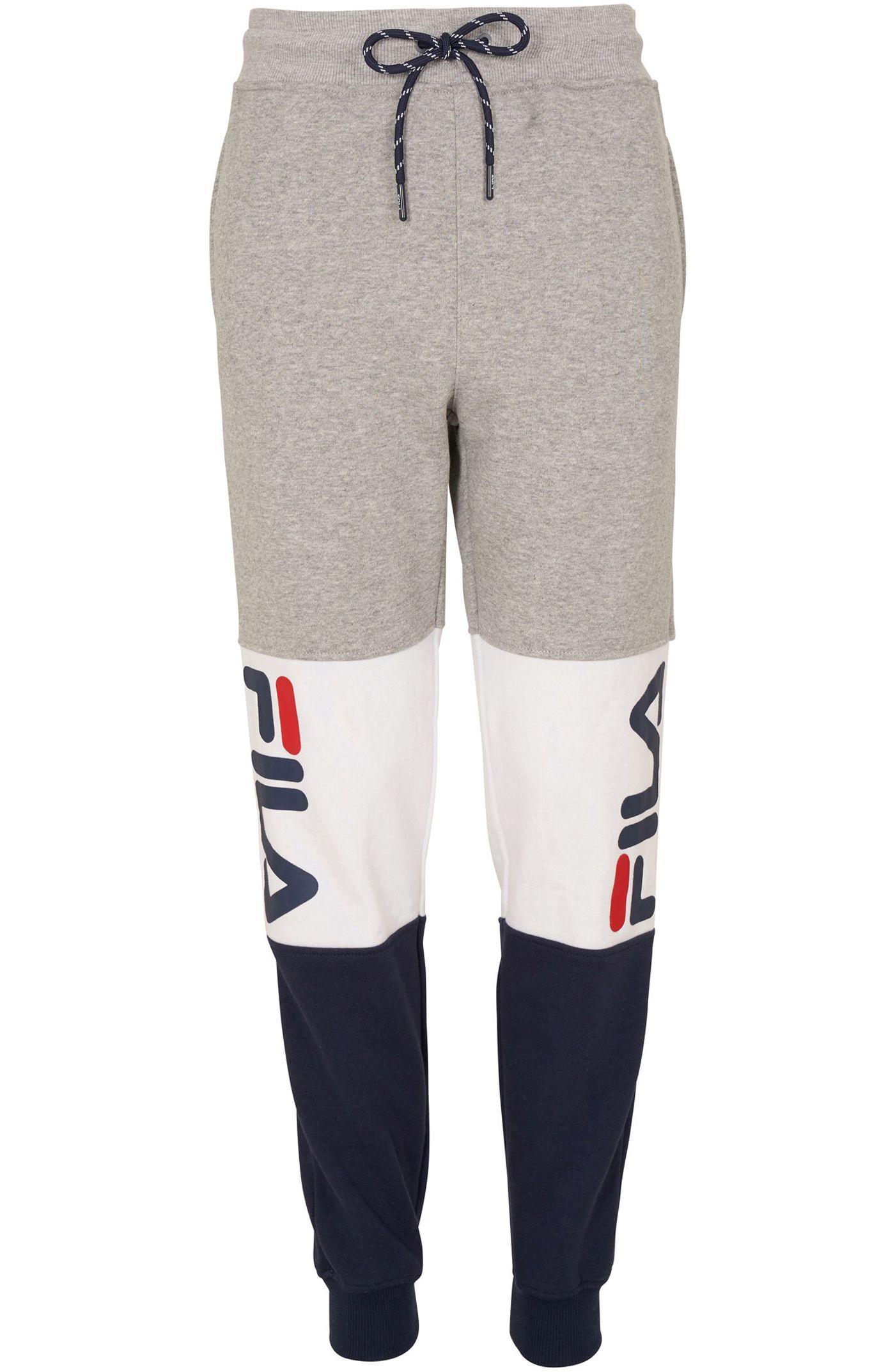 FILA Boy's Color Blocked Heritage Jogger Pants