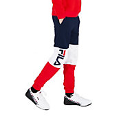 FILA Boy's Color Blocked Heritage Jogger Pants