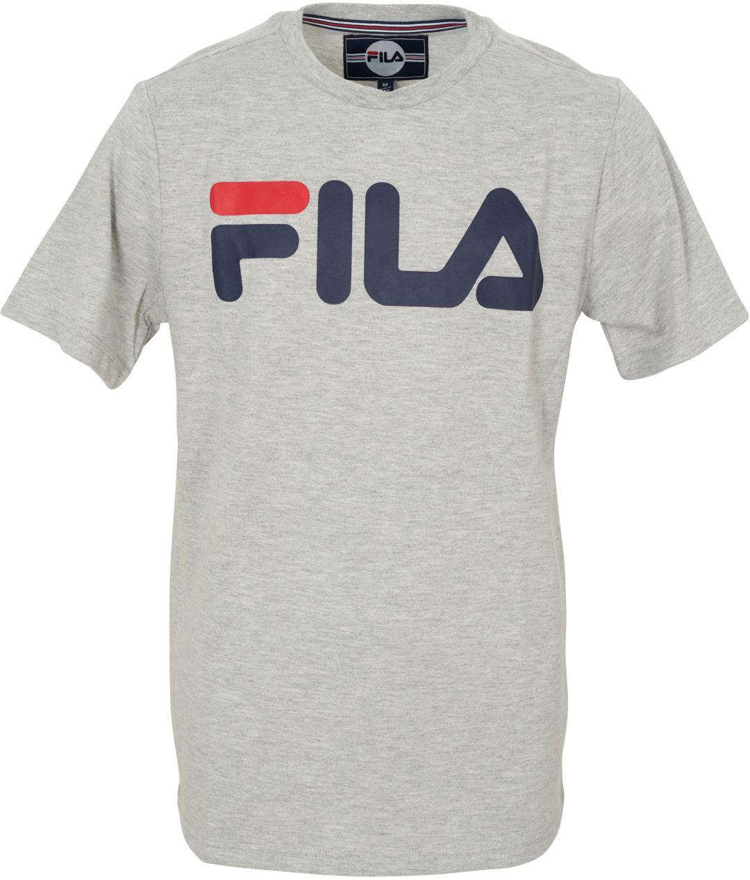 grandes variétés New York meilleure qualité FILA Boy's Classic Logo T-Shirt