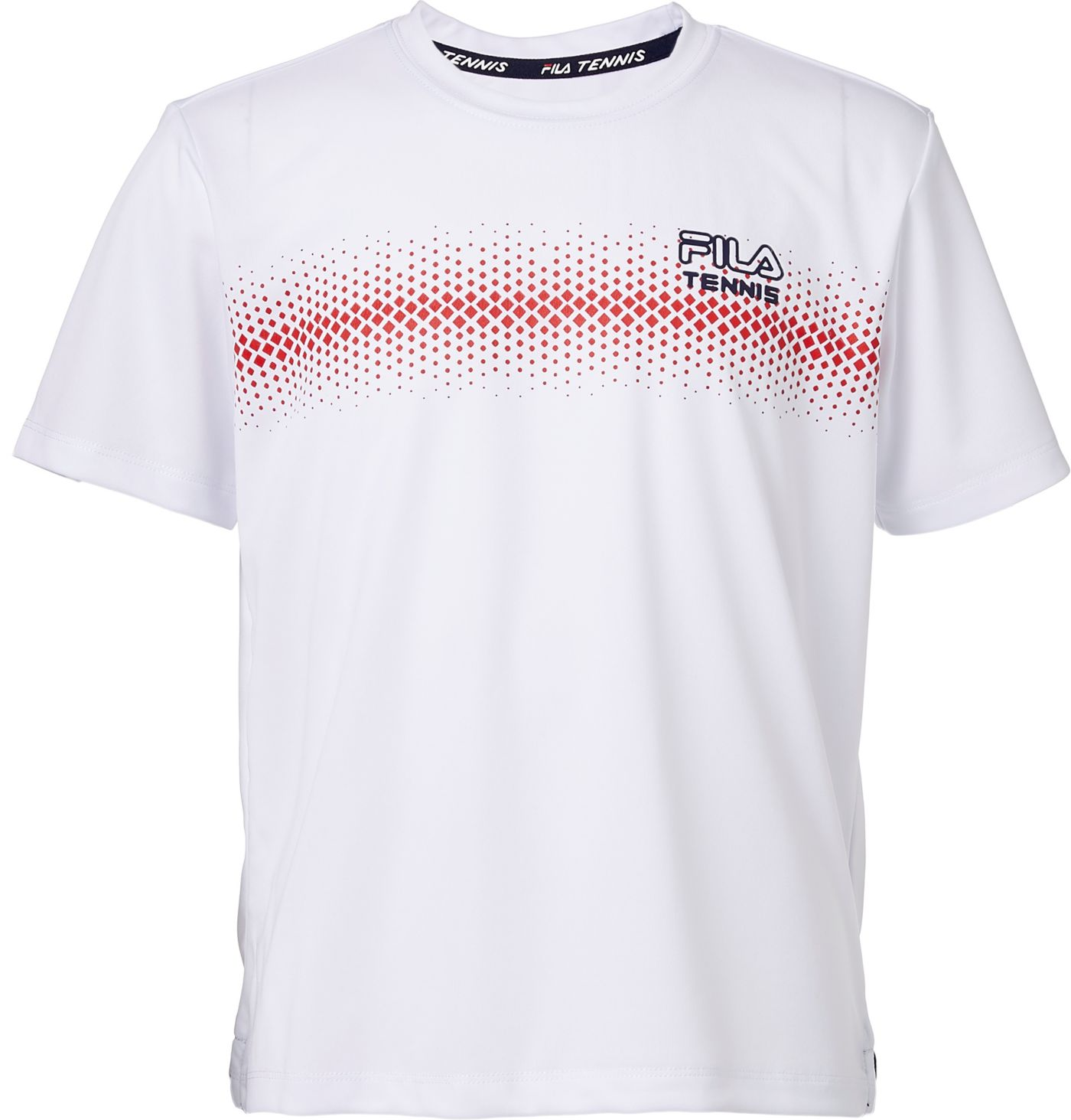 Fila Boys' Core Dotted Tennis T-Shirt