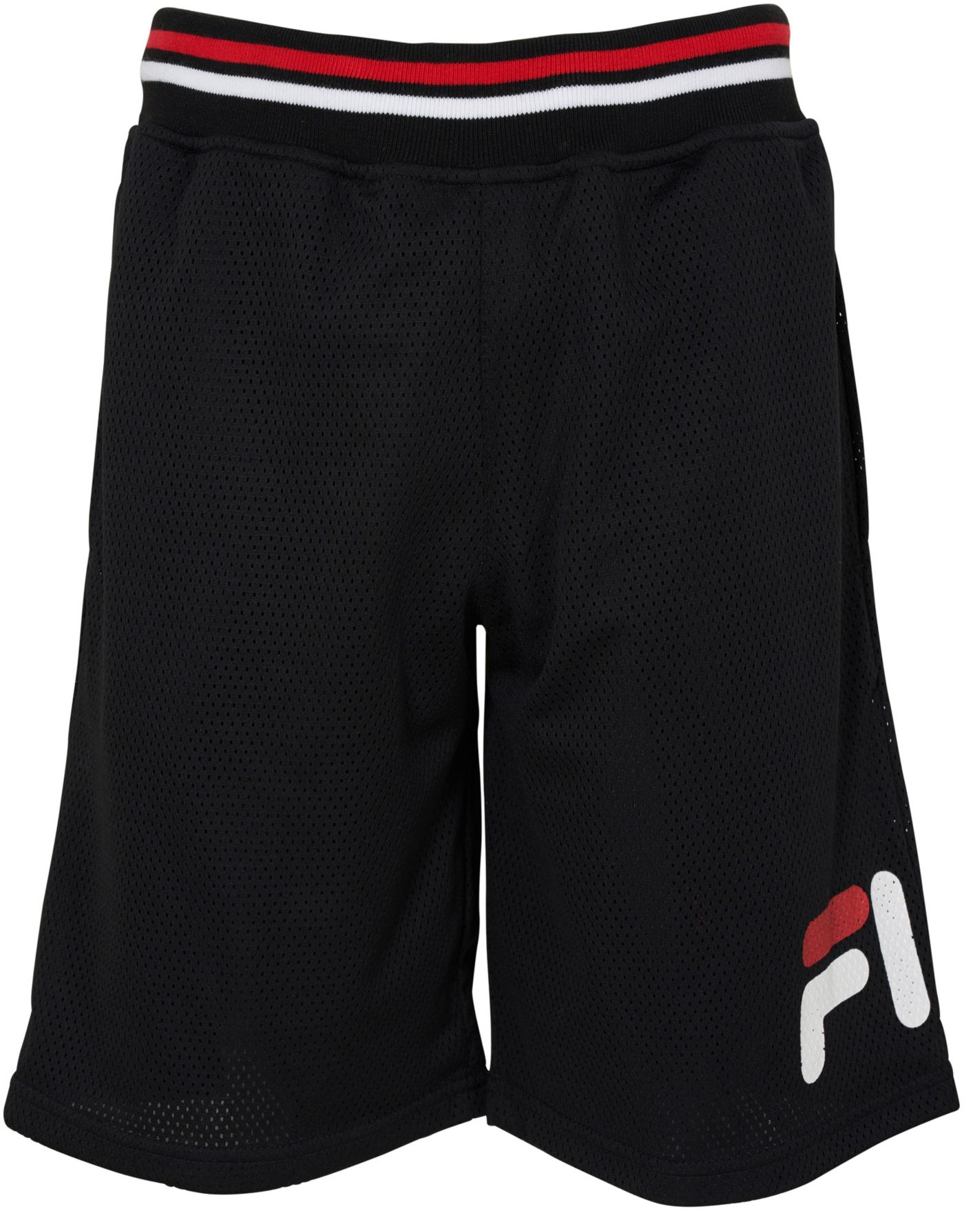 FILA Boy's Heritage Logo Mesh Shorts