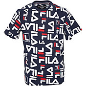 FILA Boy's All Over Print T-Shirt
