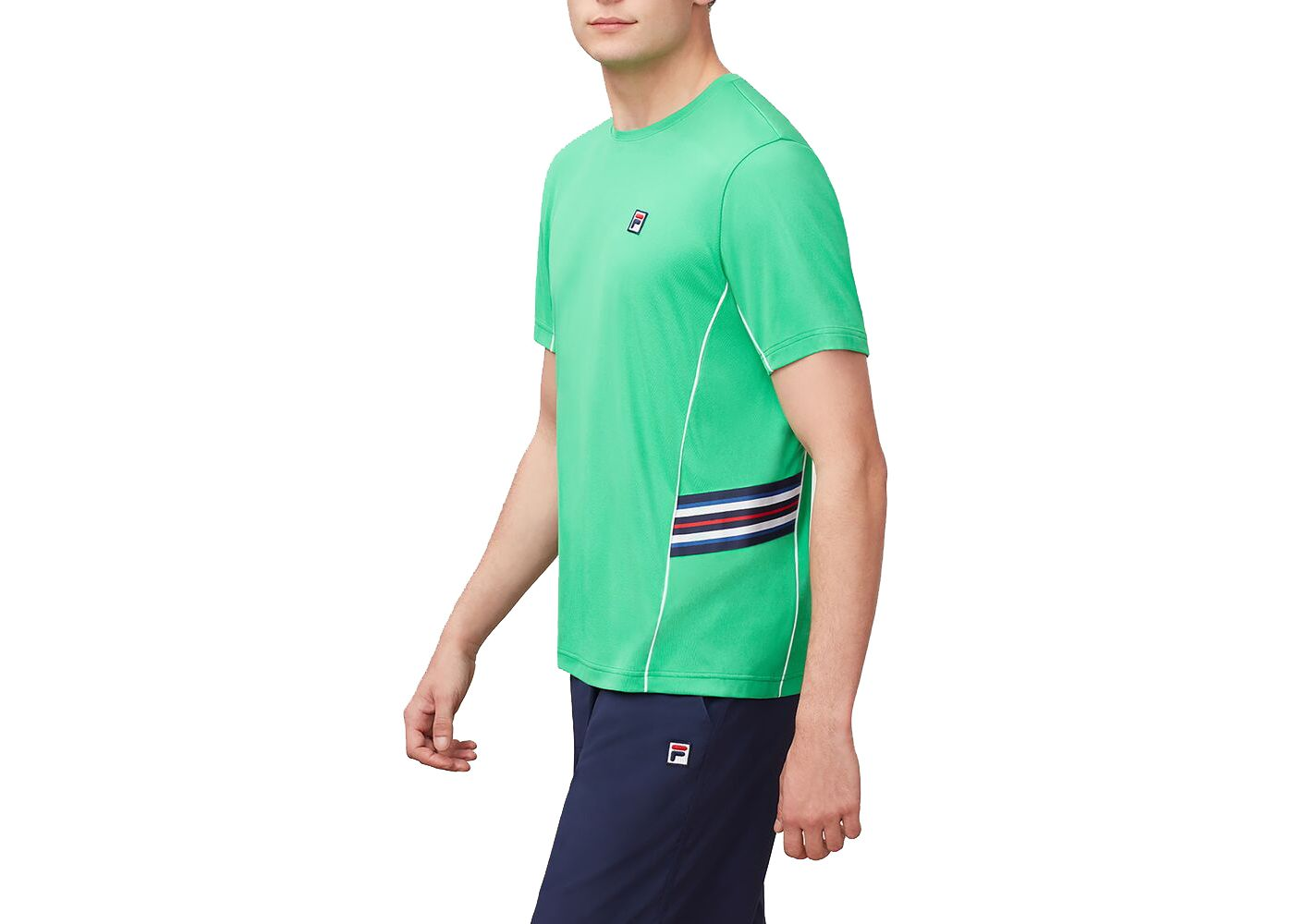 Fila Men's Heritage Tennis Crew T-Shirt