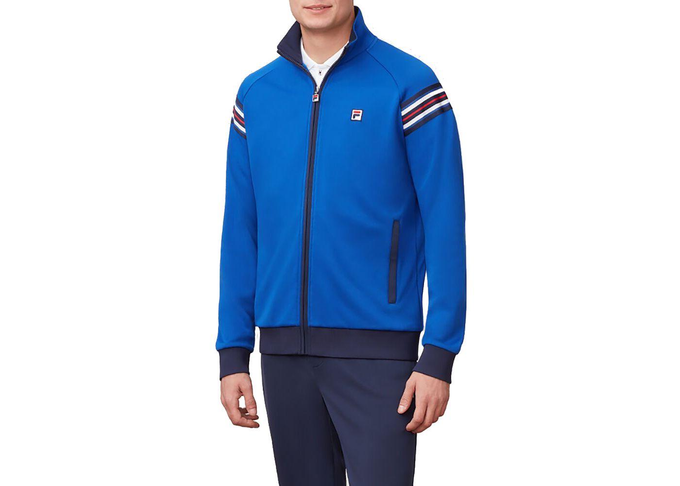 Fila Men's Heritage Warm-Up Tennis Jacket