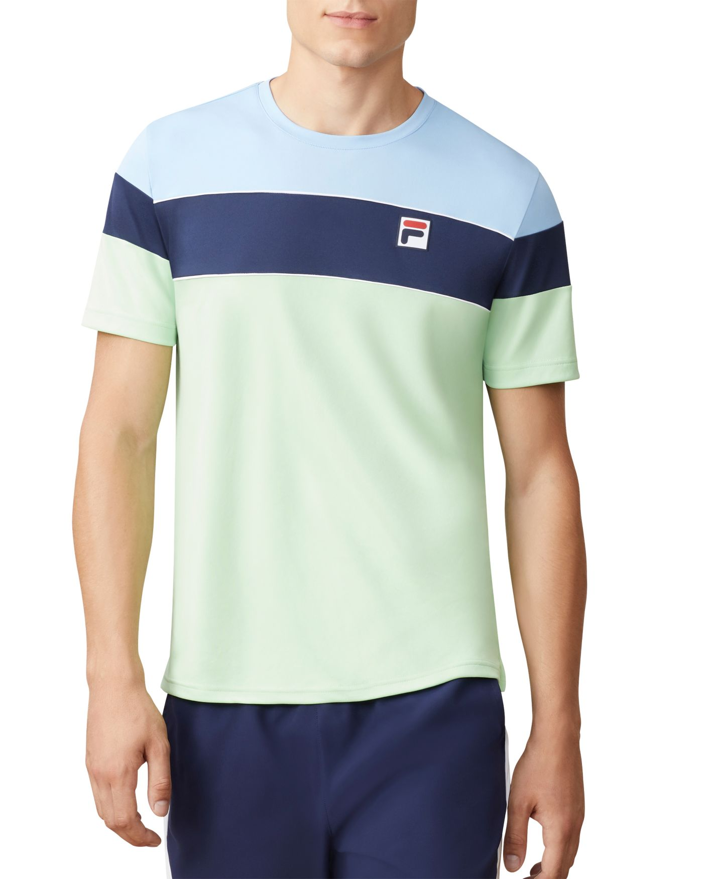 Fila Men's Legend Colorblock Tennis Shirt