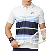Fila Men's Legend Striped Tennis Polo