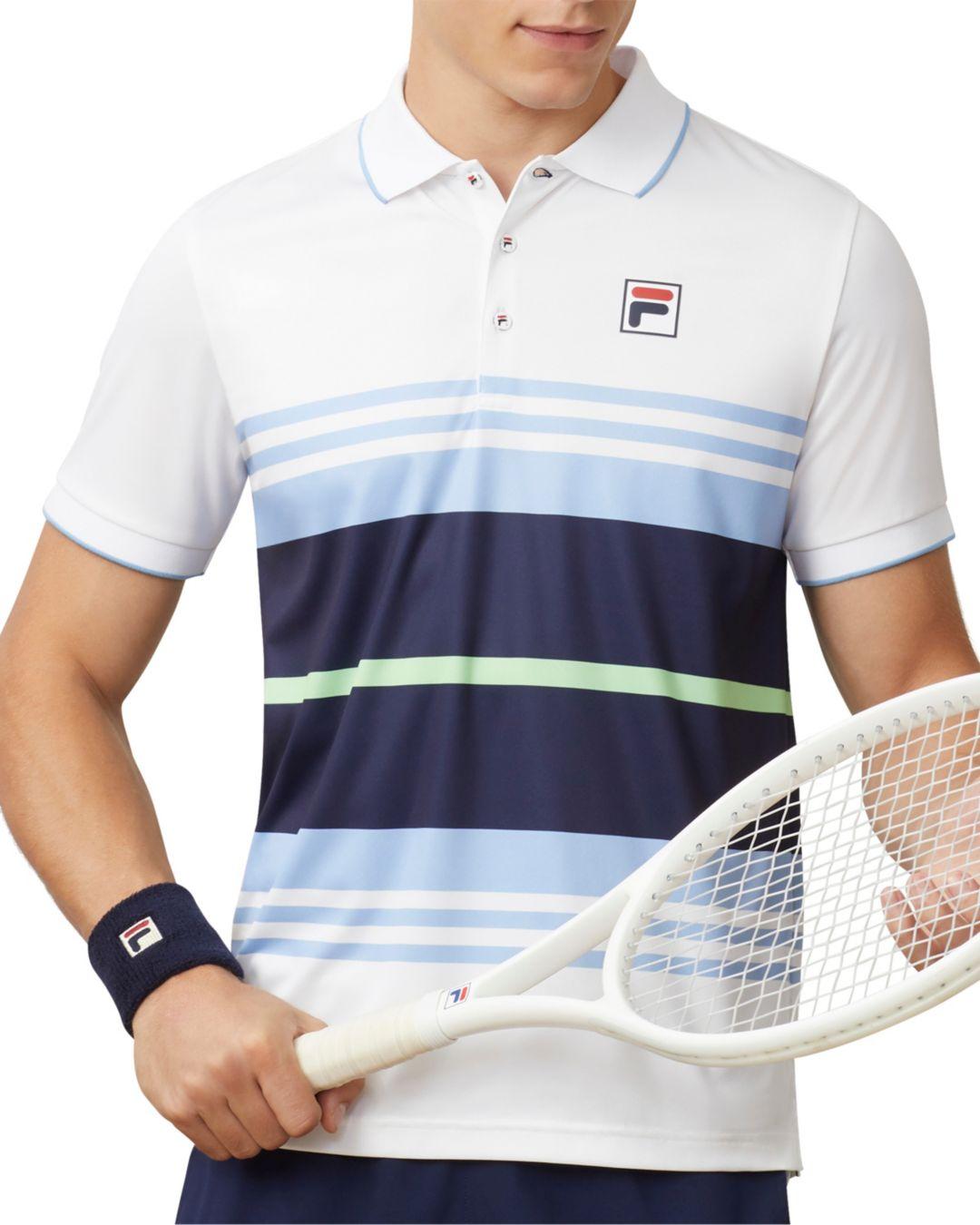 Fila Men's Legend Striped Tennis Polo   DICK'S Sporting Goods