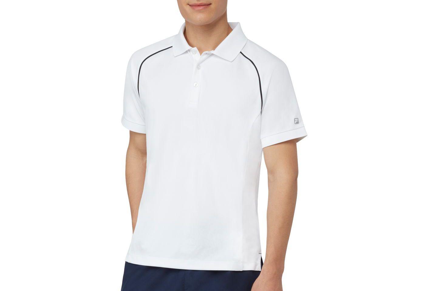 Fila Men's Piped Tennis Polo