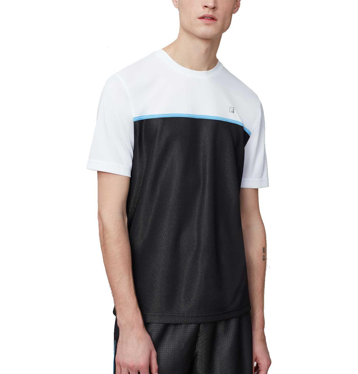 Fila Men's Set Point Colorblocked Crew Neck Tennis Shirt