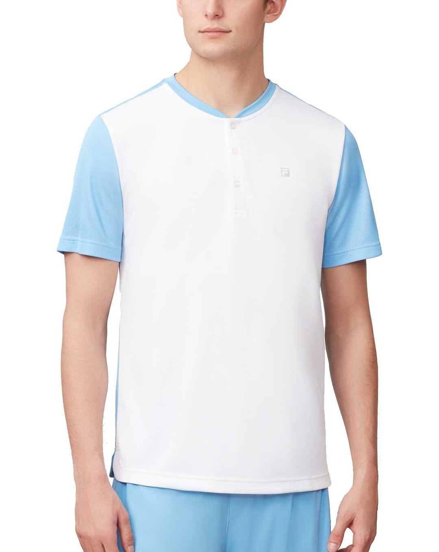 Fila Men's Set Point Henley Tennis Shirt