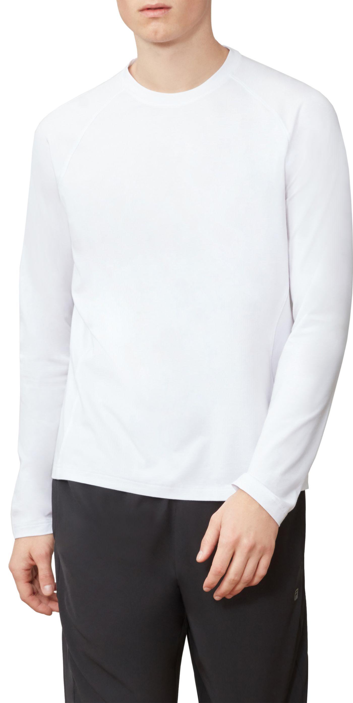 Fila Men's UV Blocker Long Sleeve Shirt