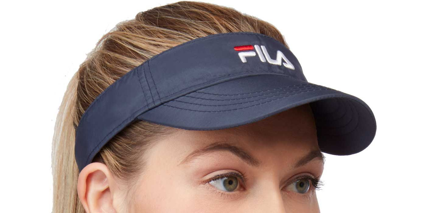 Fila Performance Solid Tennis Visor