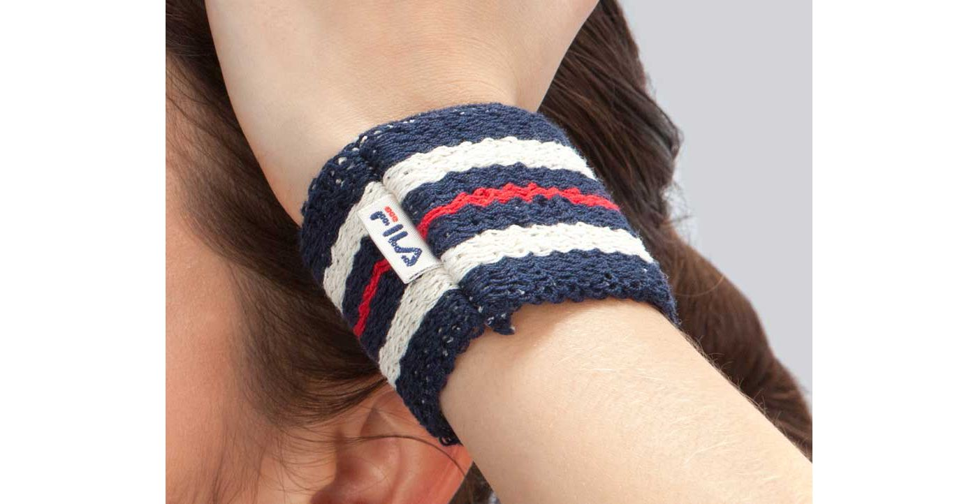 Fila Retro Tennis Wristband