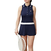 Fila Women's Heritage Tennis Polo Dress