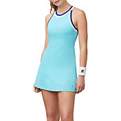 Fila Women's Aqua Halter Tennis Dress