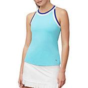 Fila Women's Aqua Halter Tennis Tank