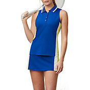 Fila Women's Aqua Sole Sleeveless Tennis Polo