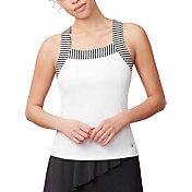 Fila Women's Stripe Trim Tennis Tank Top