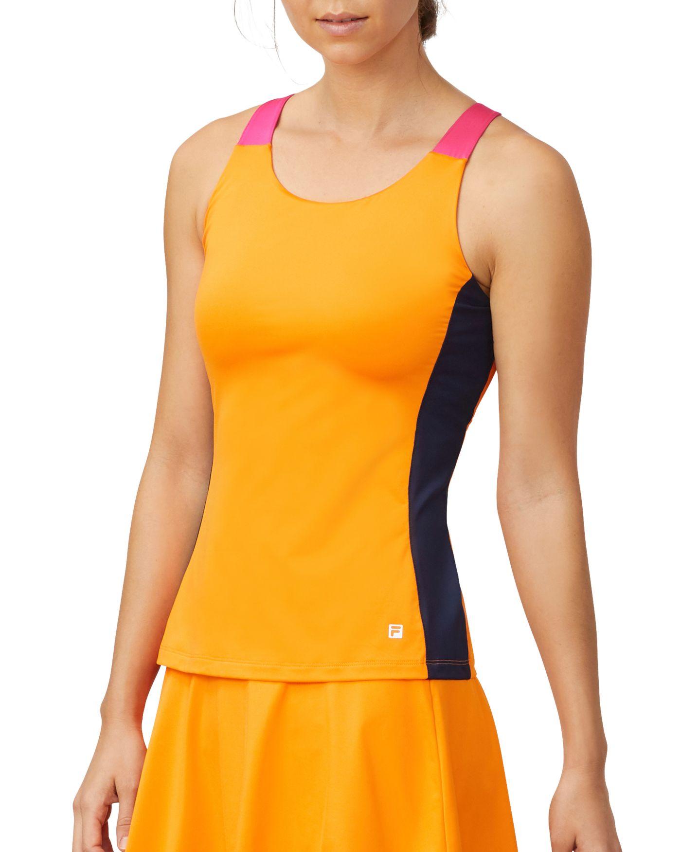 Fila Women's Awning Color Blocked Tennis Tank