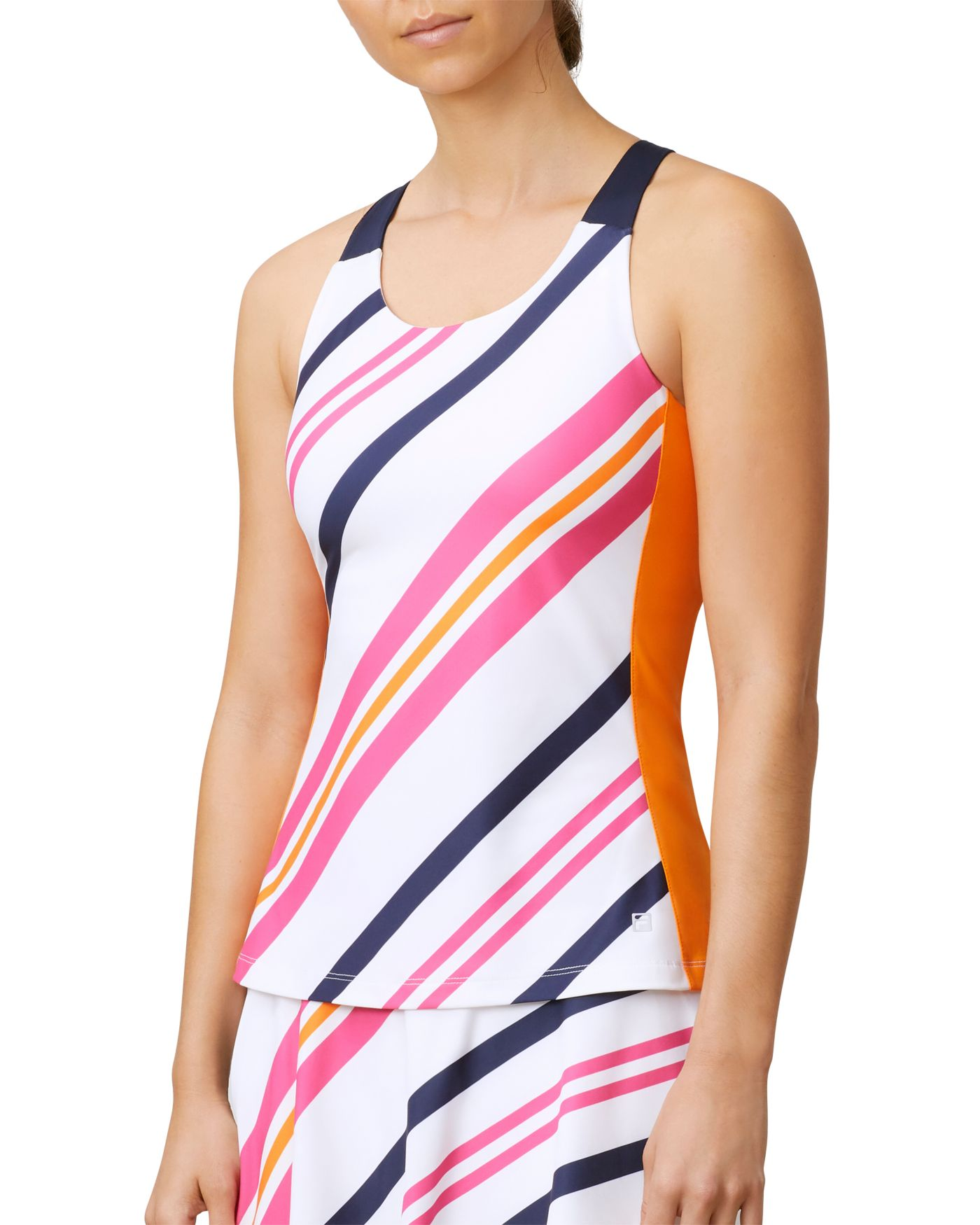 Fila Women's Awning Stripe Tennis Tank