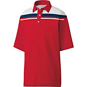 FootJoy Men's Colorblock Chest Stripe Golf Polo