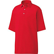 FootJoy Men's Diamond Print Golf Polo