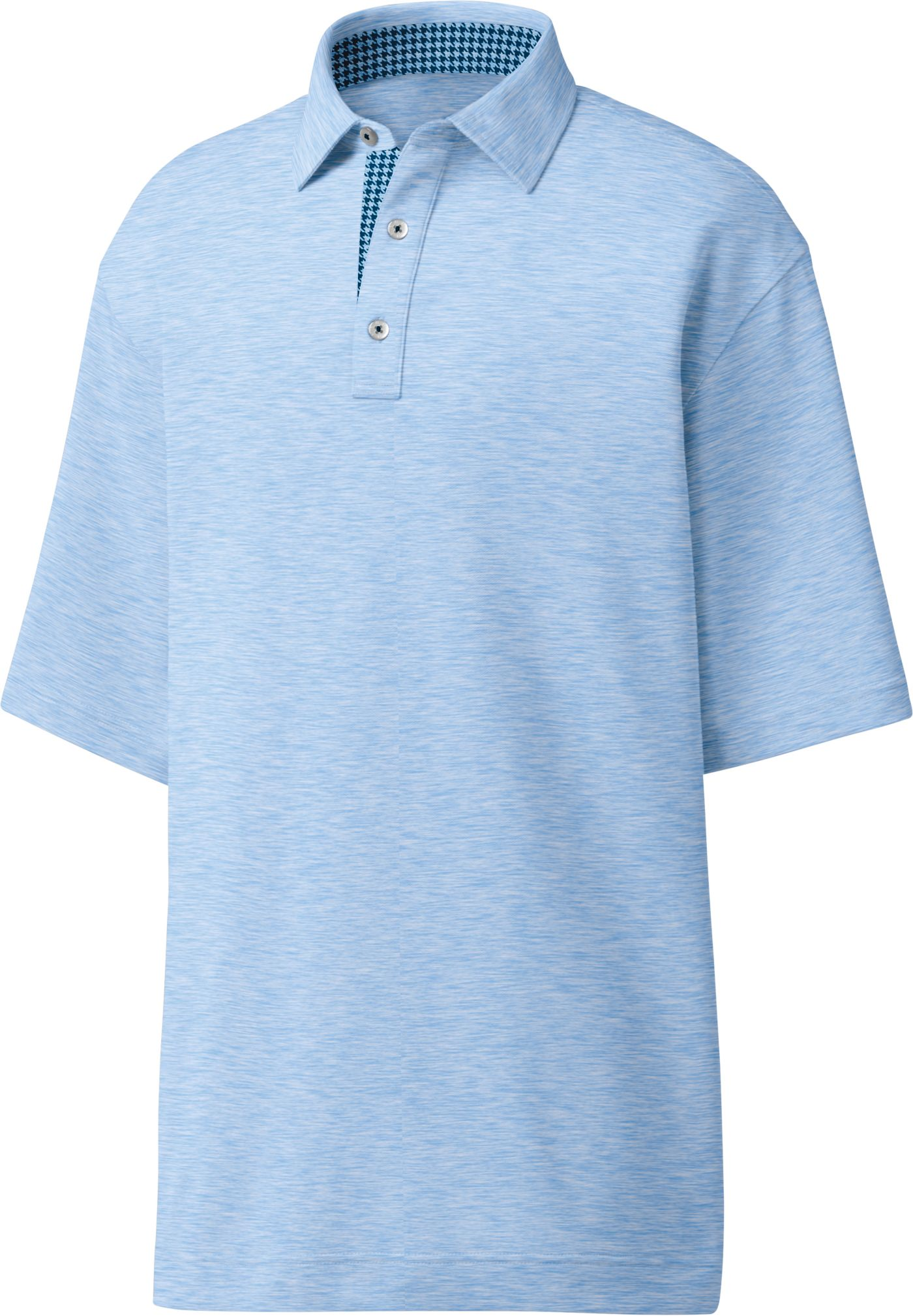 FootJoy Men's Heather Lisle Solid Golf Polo