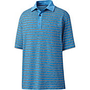 FootJoy Men's Heather Lisle Stripe Golf Polo