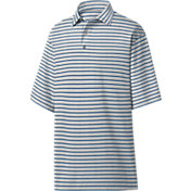FootJoy Men's Lisle Multi Stripe Golf Polo