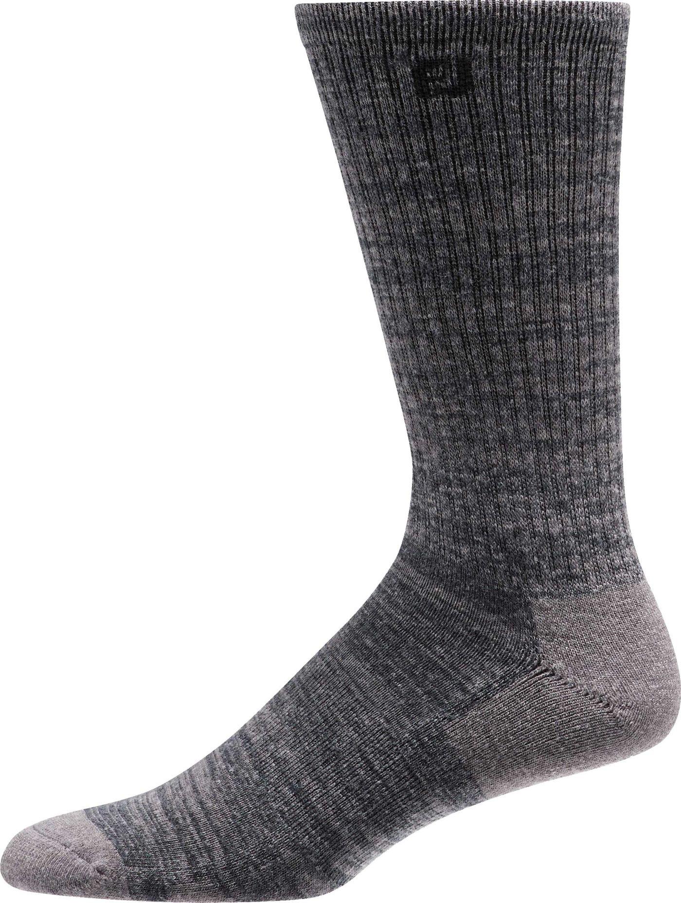FootJoy Men's TechSof Tour Thermal Crew Golf Socks