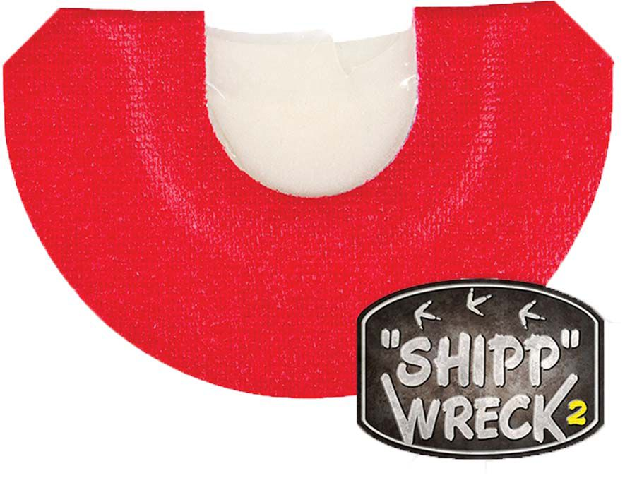 Flambeau Shipp Wreck 2 Mouth Turkey Call, red