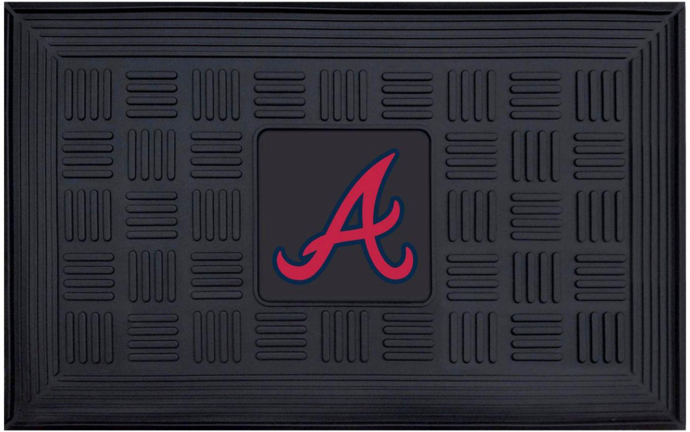 FANMATS Atlanta Braves  Door Mat