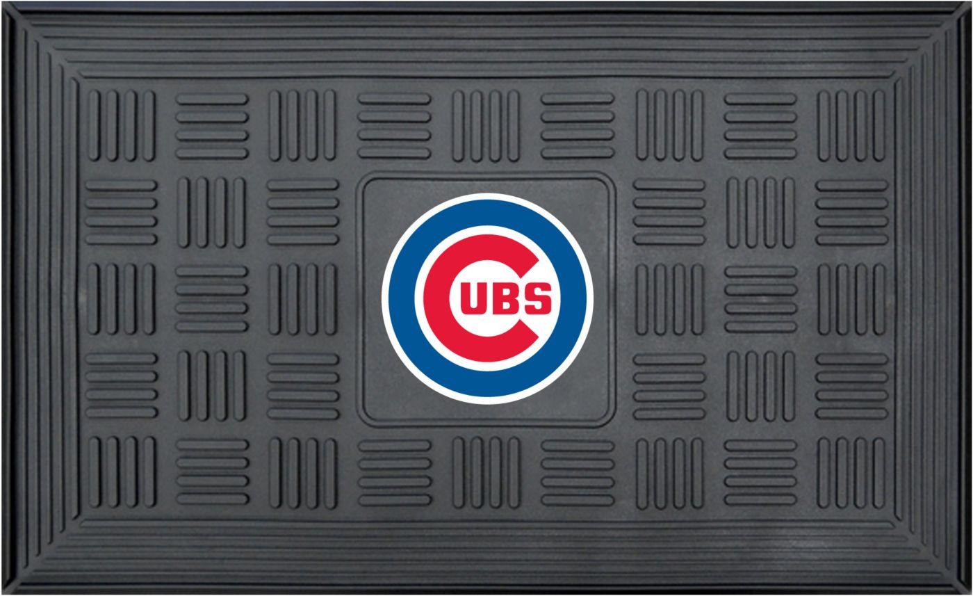 FANMATS Chicago Cubs  Door Mat