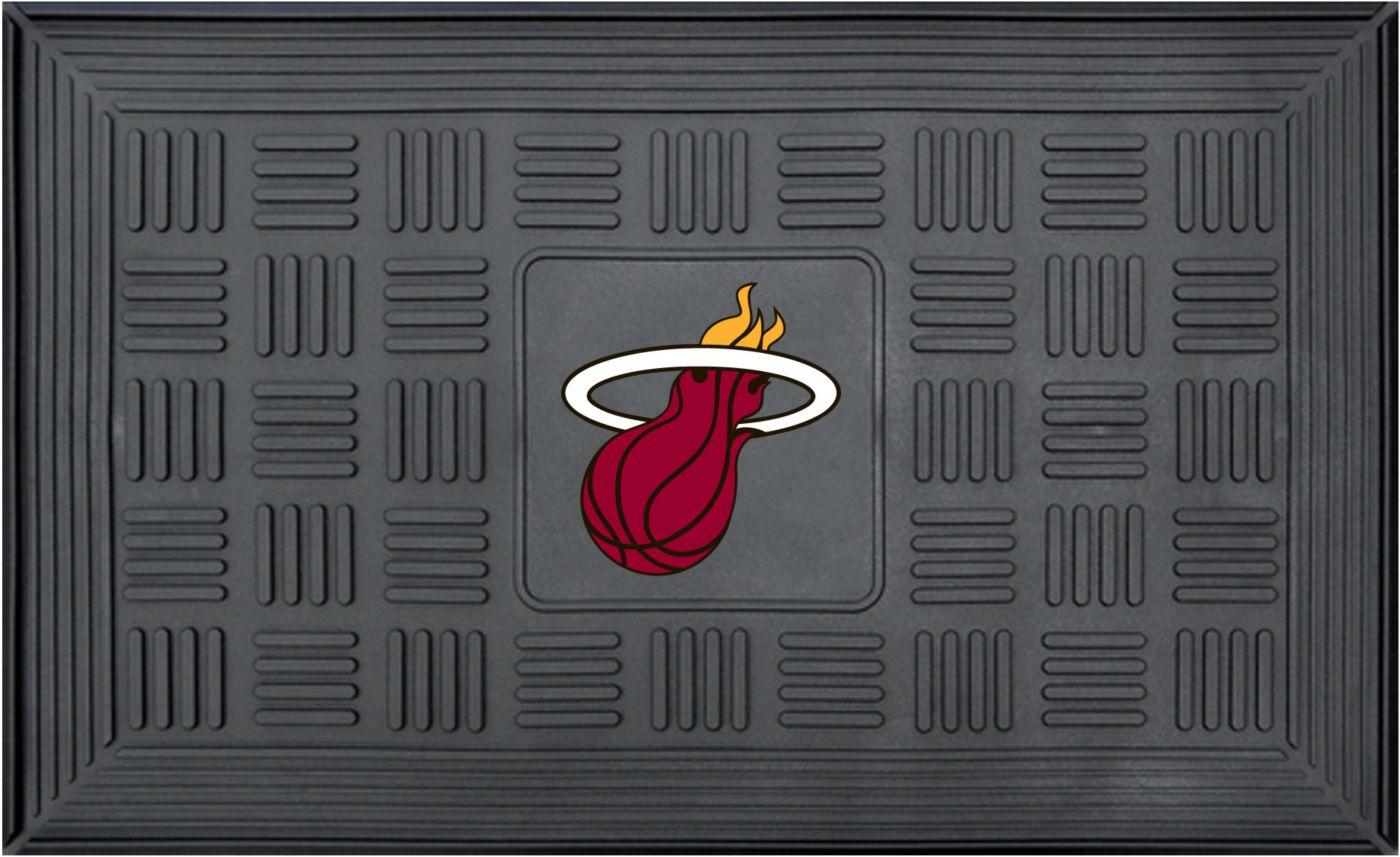 FANMATS Miami Heat  Door Mat