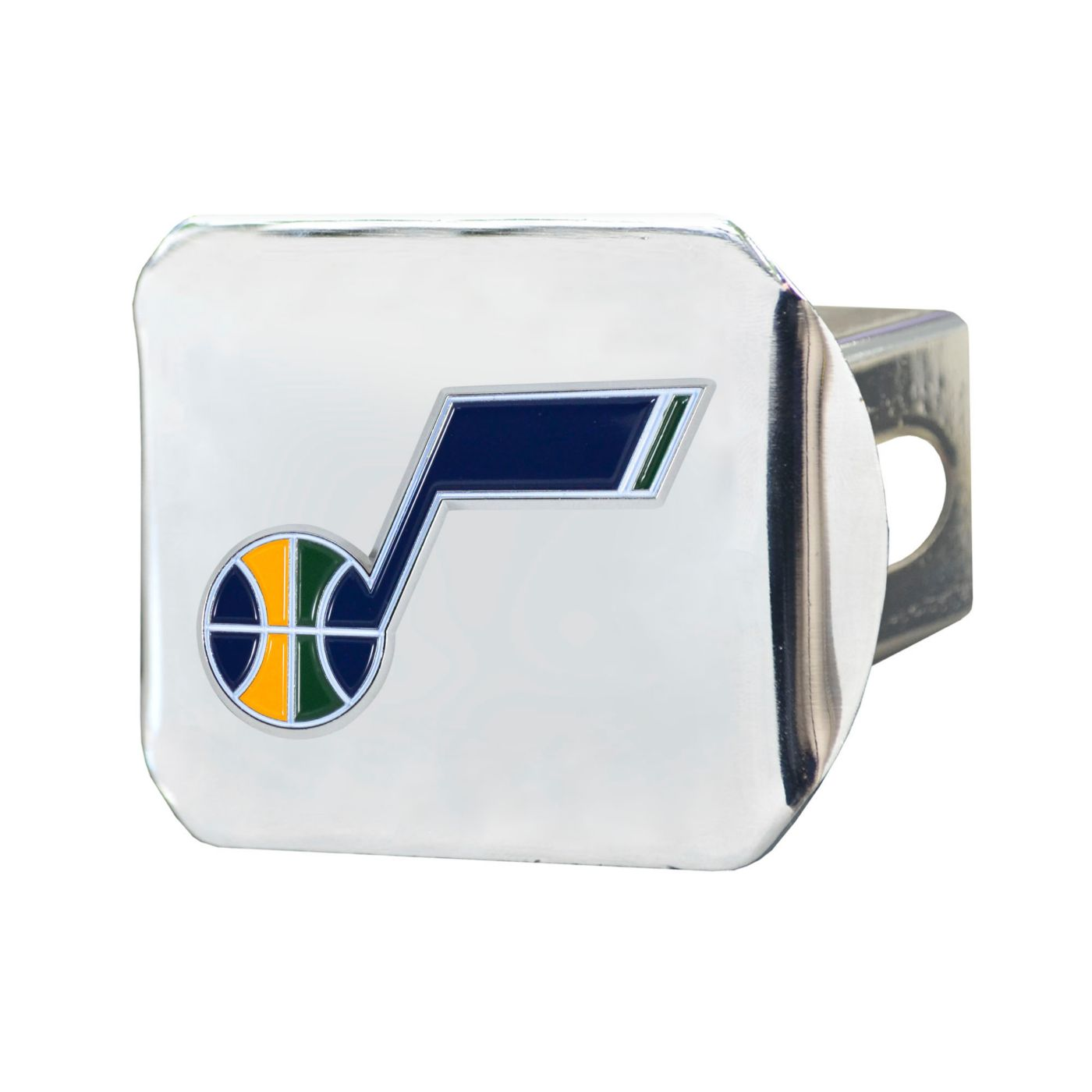 FANMATS Utah Jazz Chrome Hitch Cover