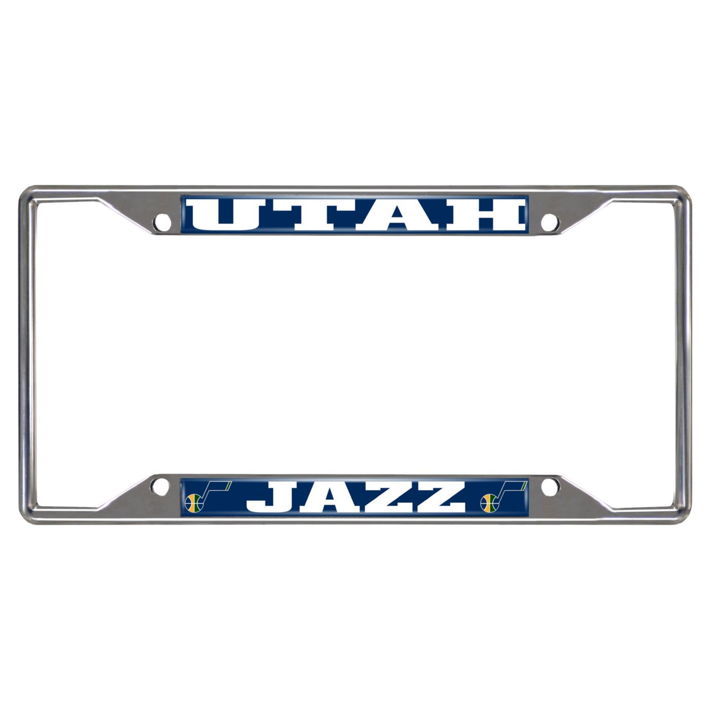FANMATS Utah Jazz License Plate Frame