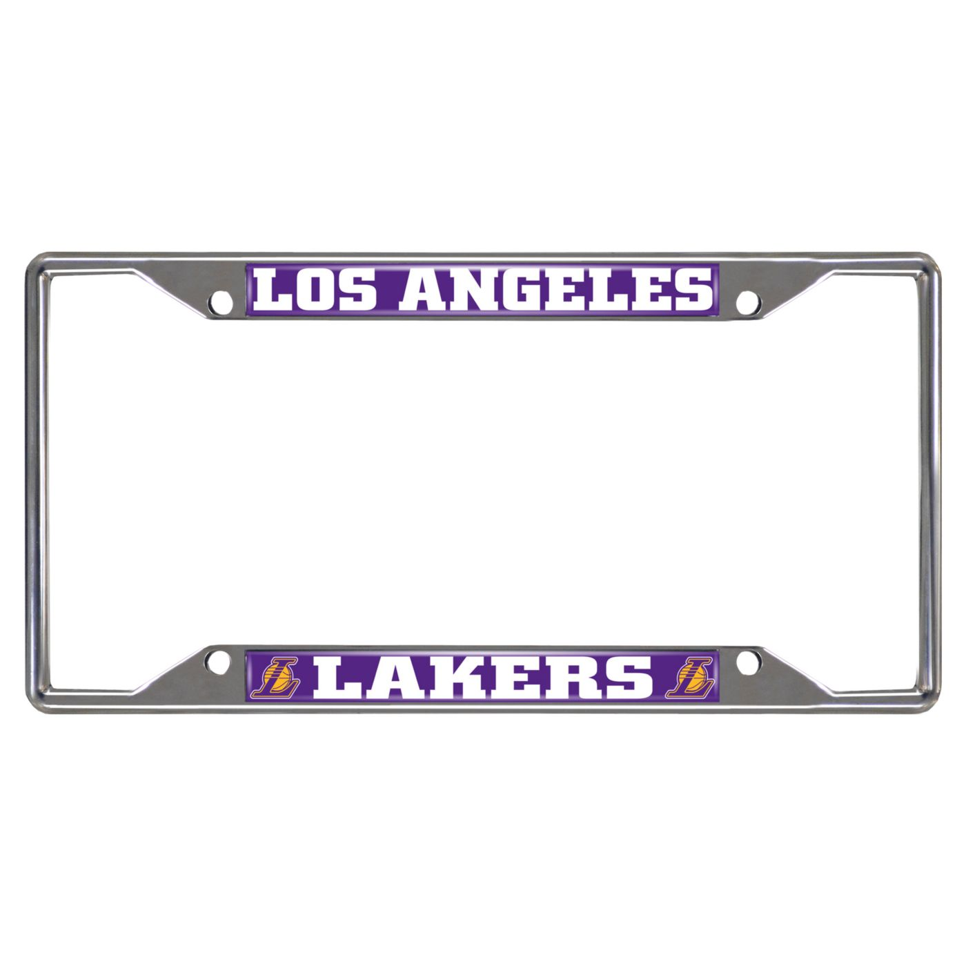 FANMATS Los Angeles Lakers License Plate Frame
