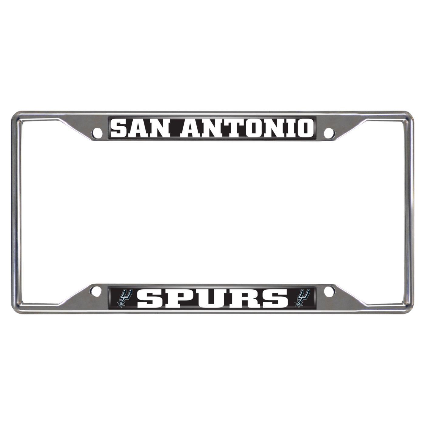 FANMATS San Antonio Spurs License Plate Frame