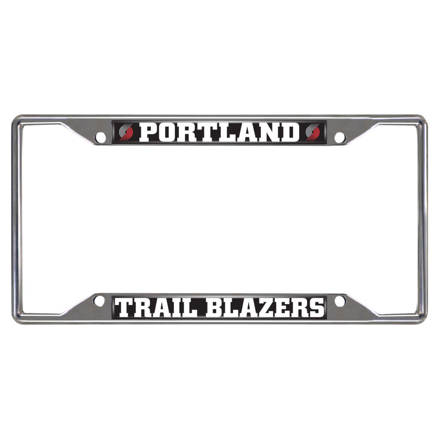 FANMATS Portland Trail Blazers License Plate Frame