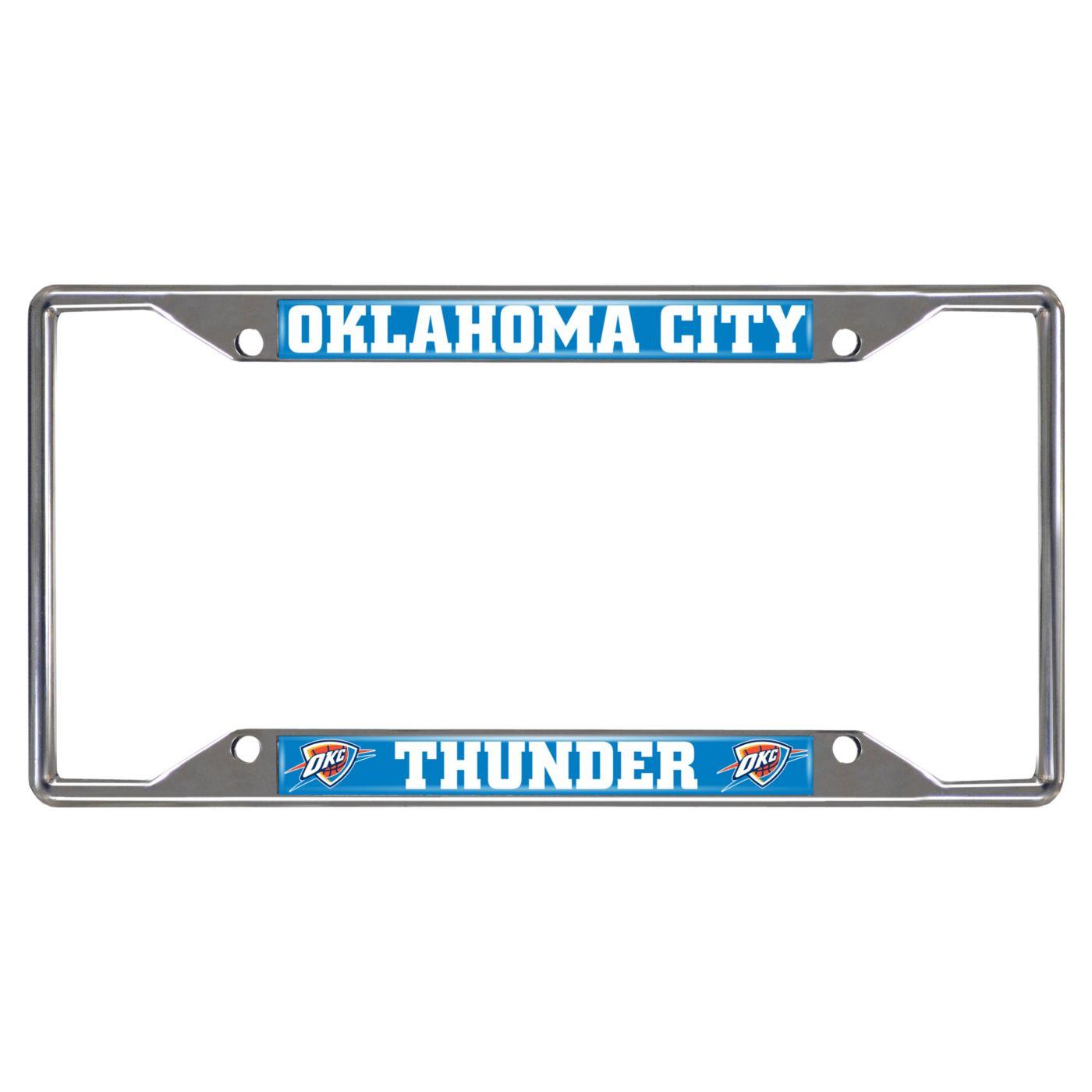 FANMATS Oklahoma City Thunder License Plate Frame