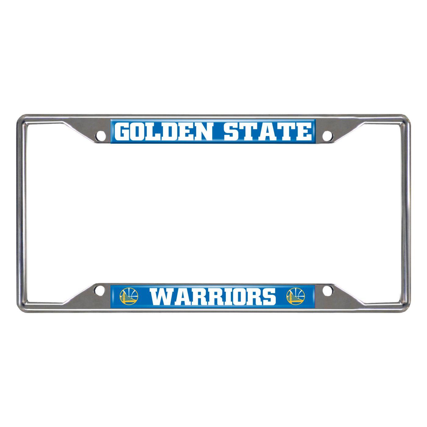 FANMATS Golden State Warriors License Plate Frame