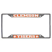 FANMATS Clemson Tigers License Plate Frame