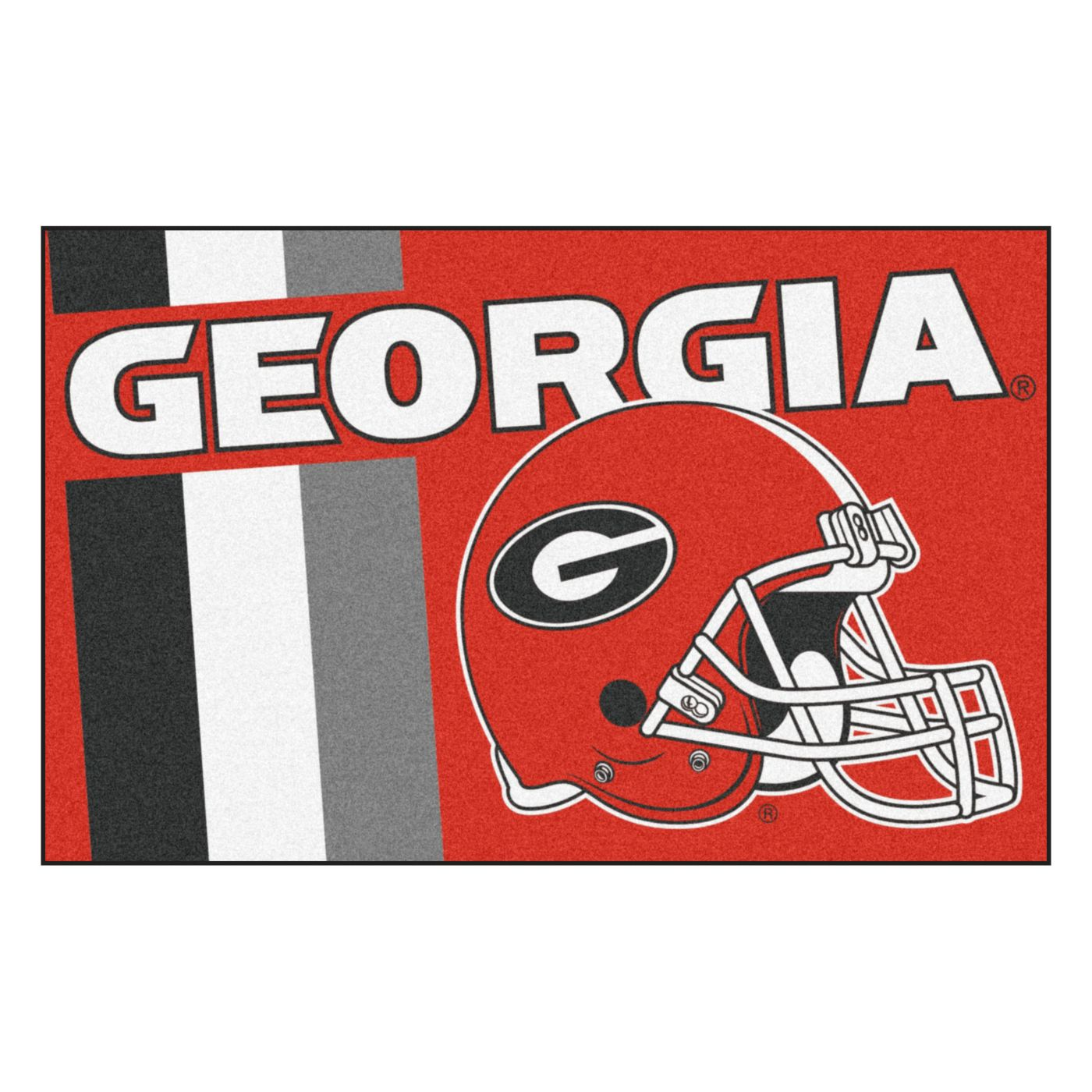 FANMATS Georgia Bulldogs Starter Mat