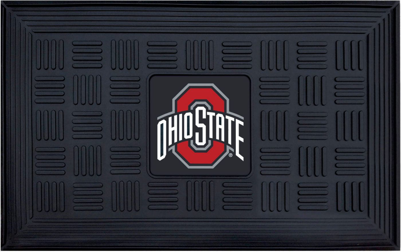 FANMATS Ohio State Buckeyes  Door Mat