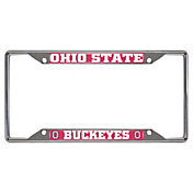 FANMATS Ohio State Buckeyes License Plate Frame