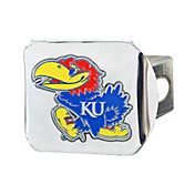 FANMATS Kansas Jayhawks Chrome Hitch Cover