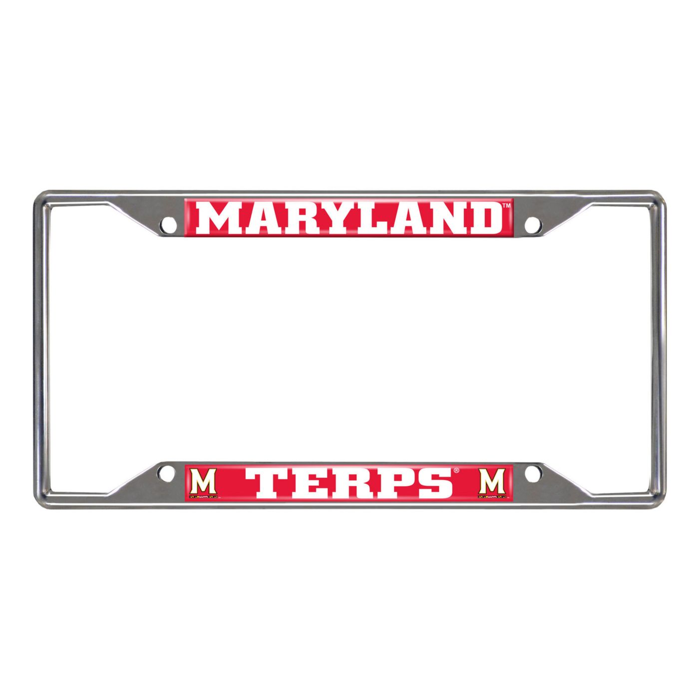 FANMATS Maryland Terrapins License Plate Frame