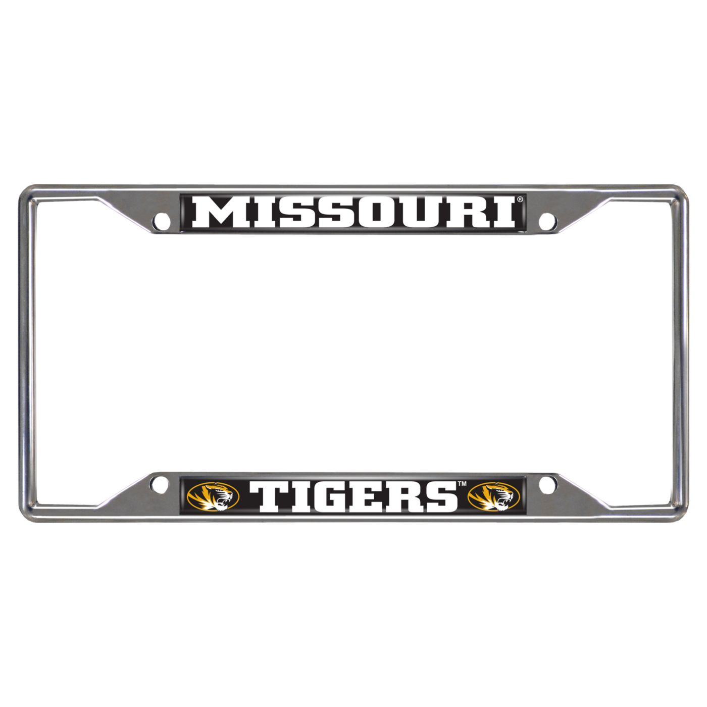 FANMATS Missouri Tigers License Plate Frame